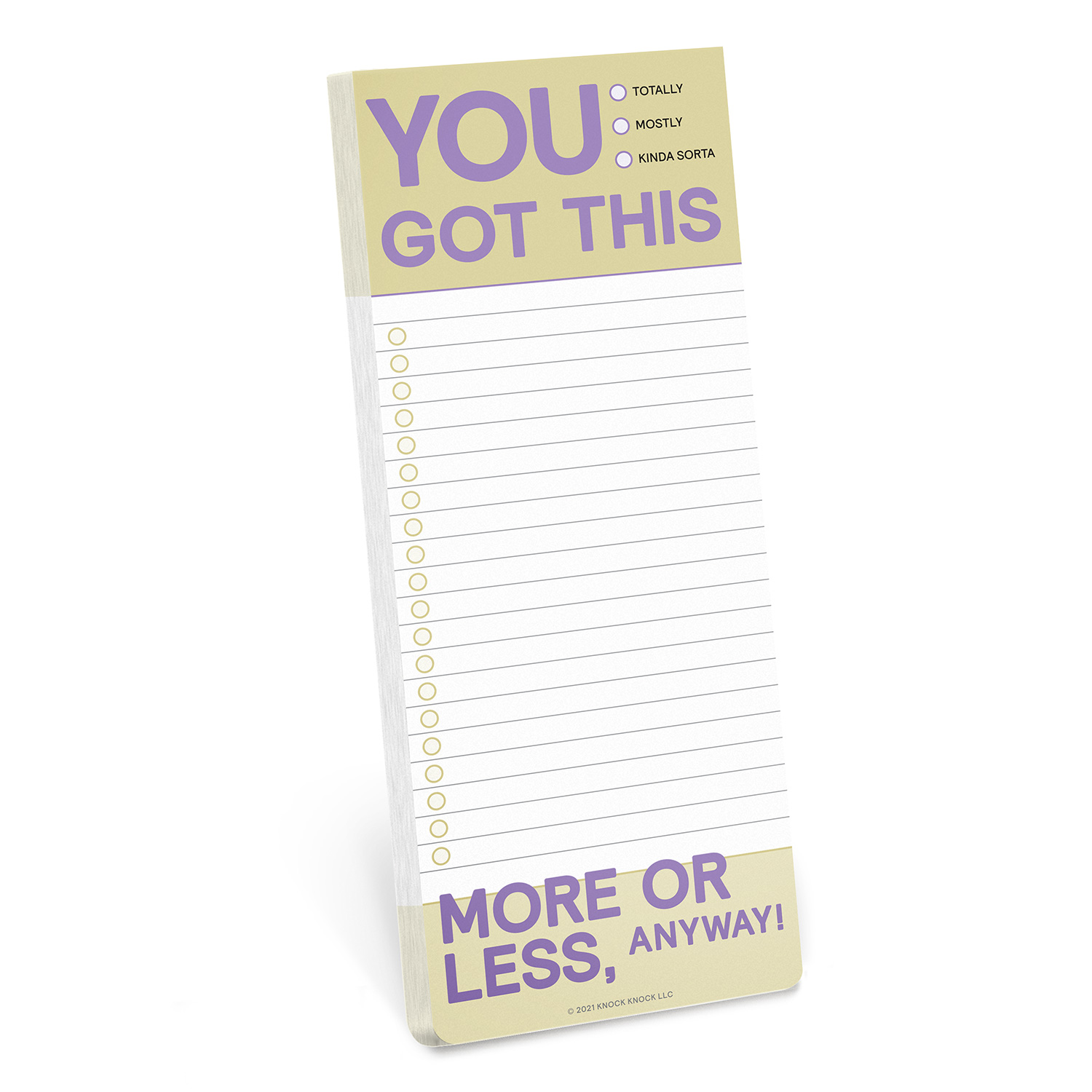 Make a List Pad: You Got This
