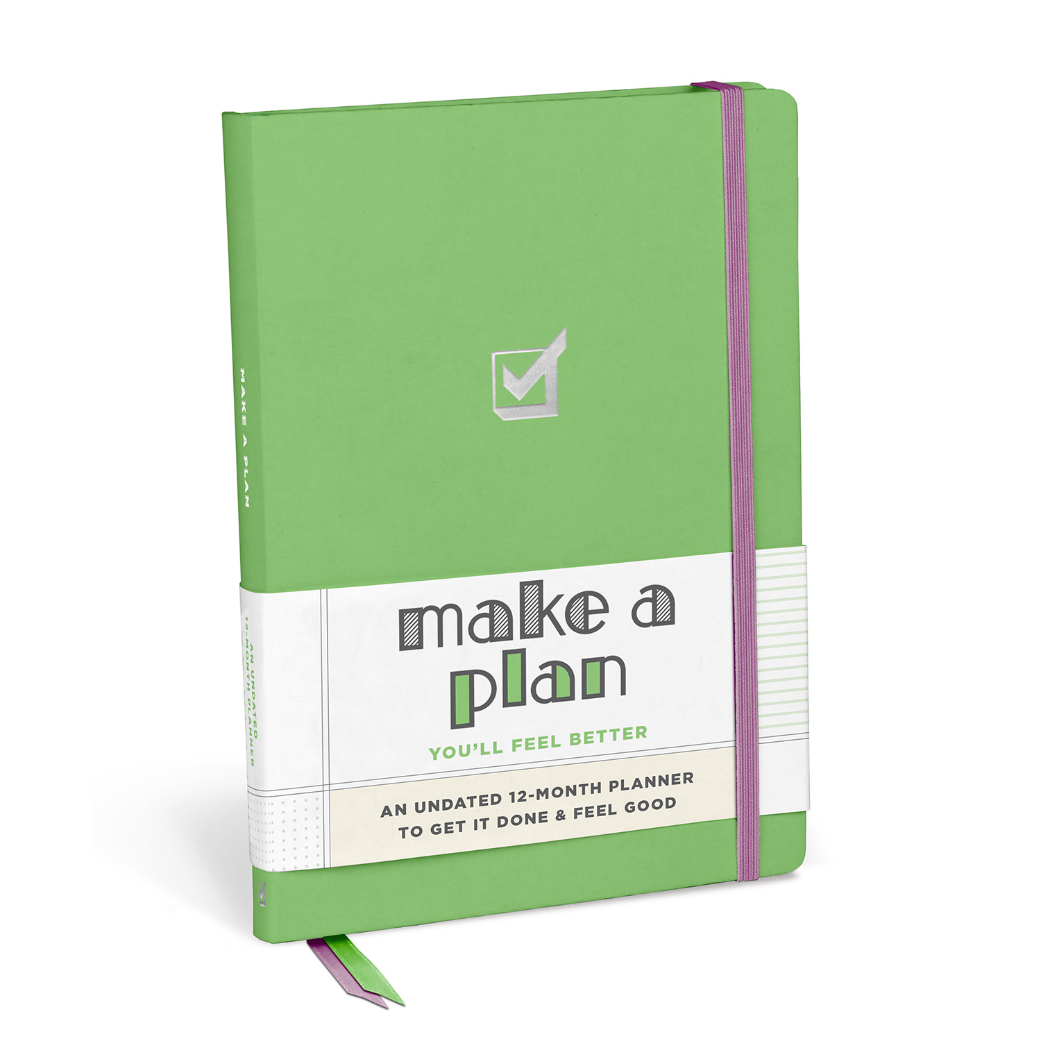 Undated Weekly Planner: Make a Plan!
