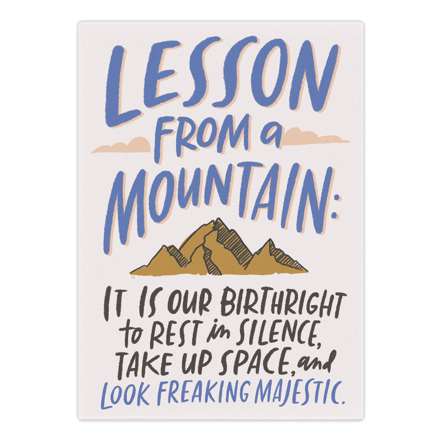 Magnet: Lesson from a Mountain Top