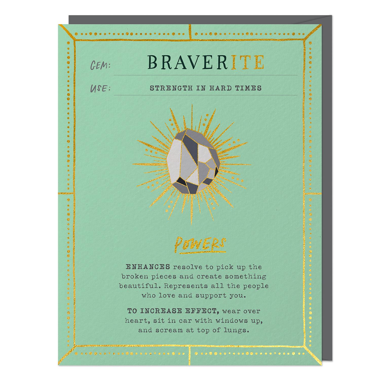 Fantasy Stone Card: Braverite