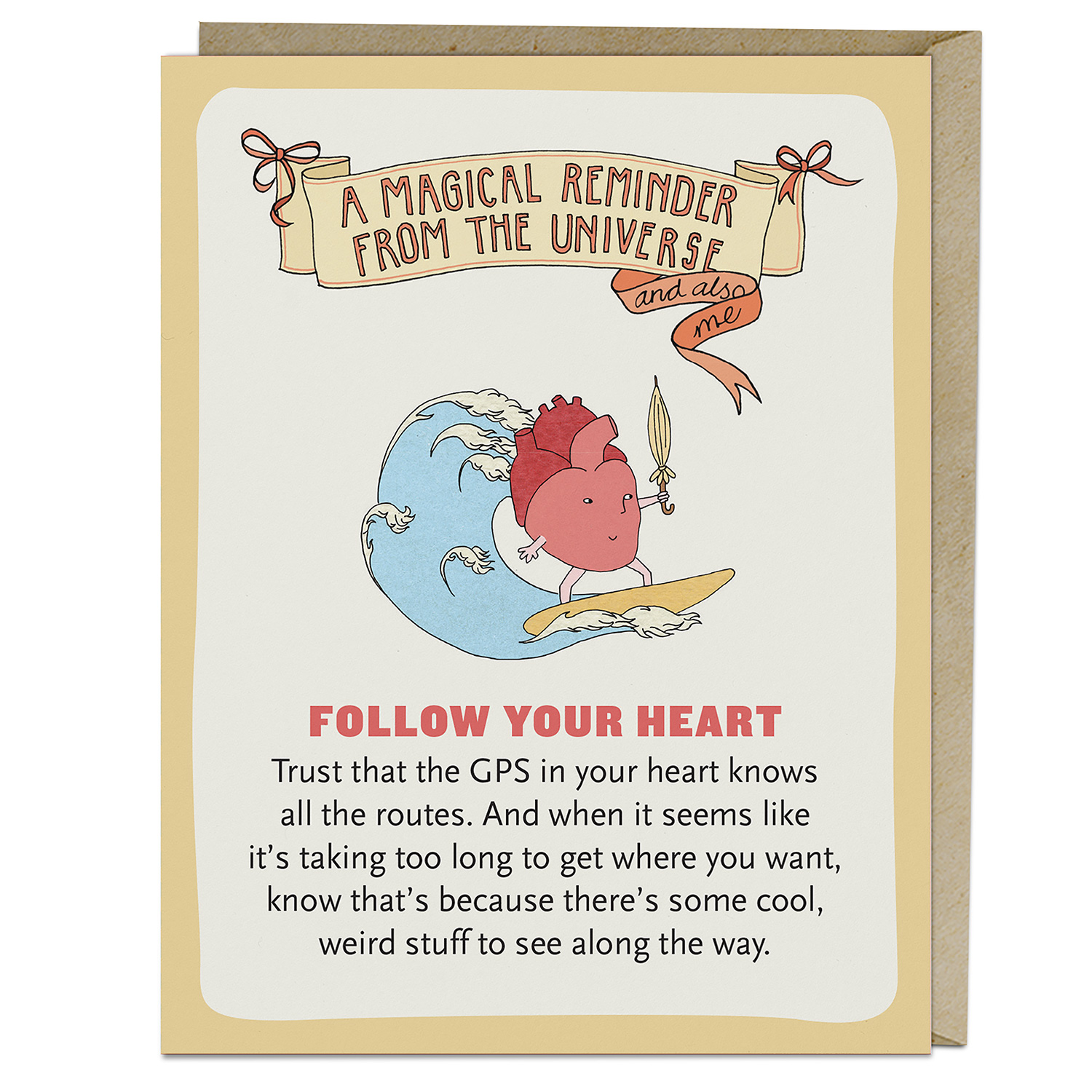 Affirmators! Cards: Follow your Heart