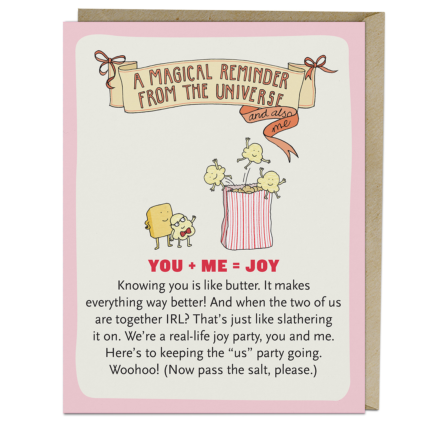 Affirmators! Cards: You + Me + Joy