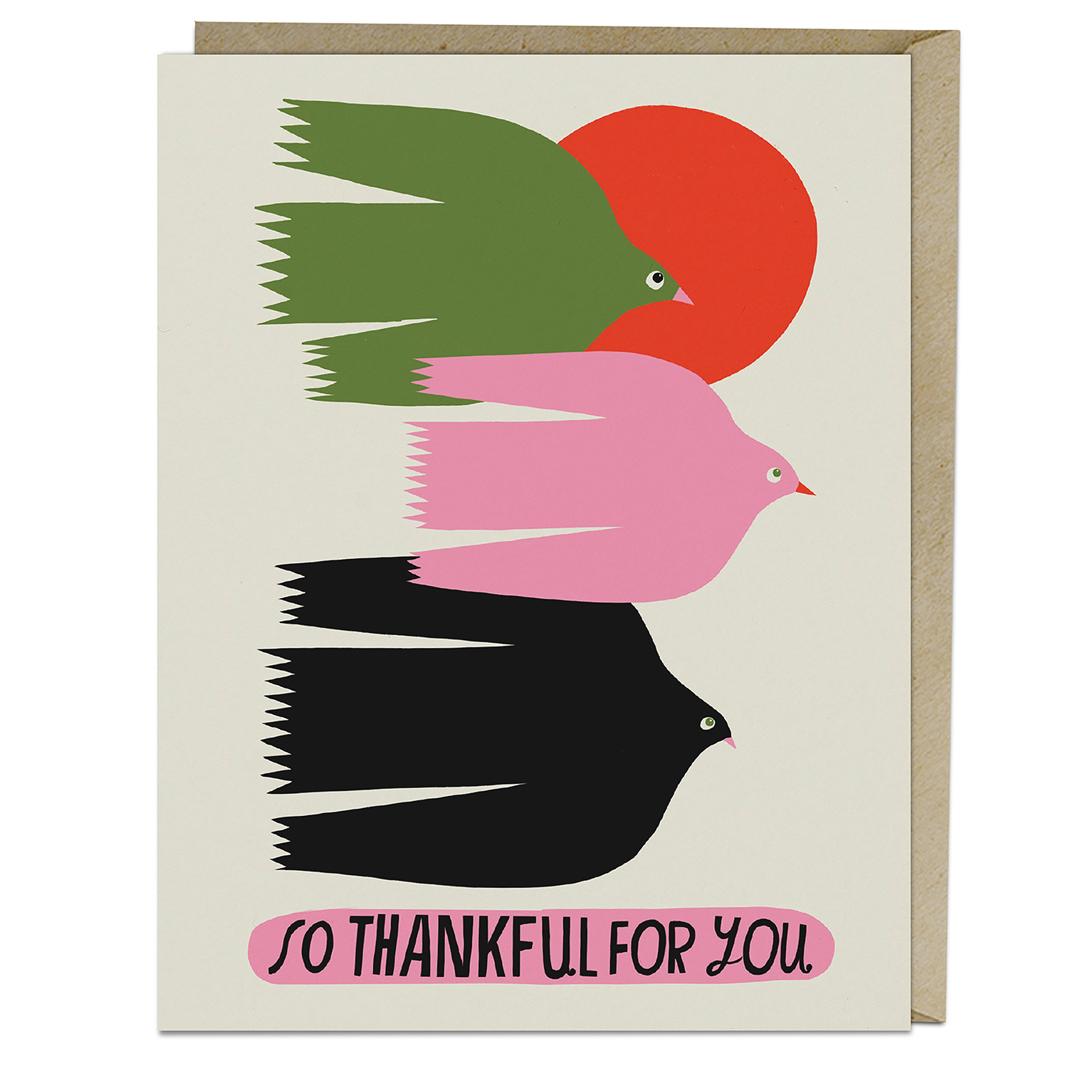 Lisa Congdon Card: So Thankful for Your