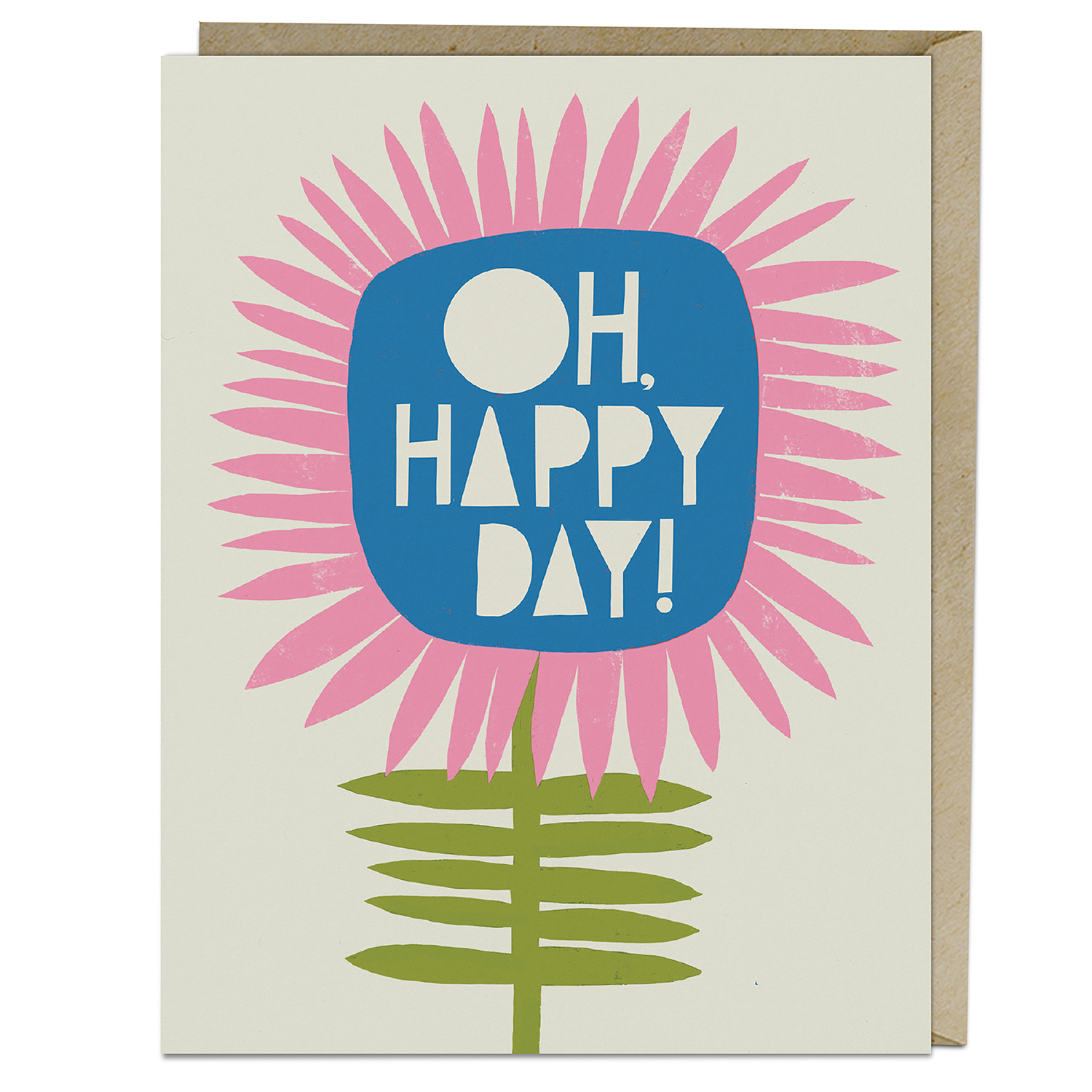 Lisa Congdon Card: Oh, Happy Day