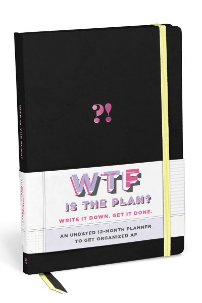 Undated Weekly Planner: WTF