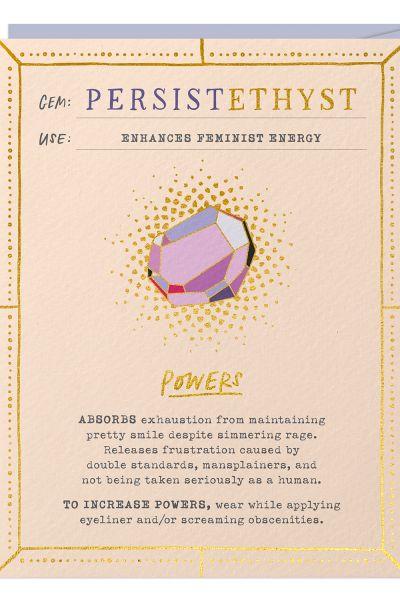 Fantasy Stone Card: PersisEthyst