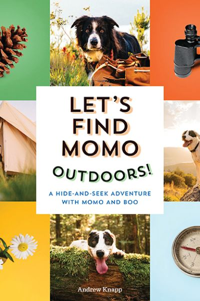 Let's Find Momo Board Book Outdoors