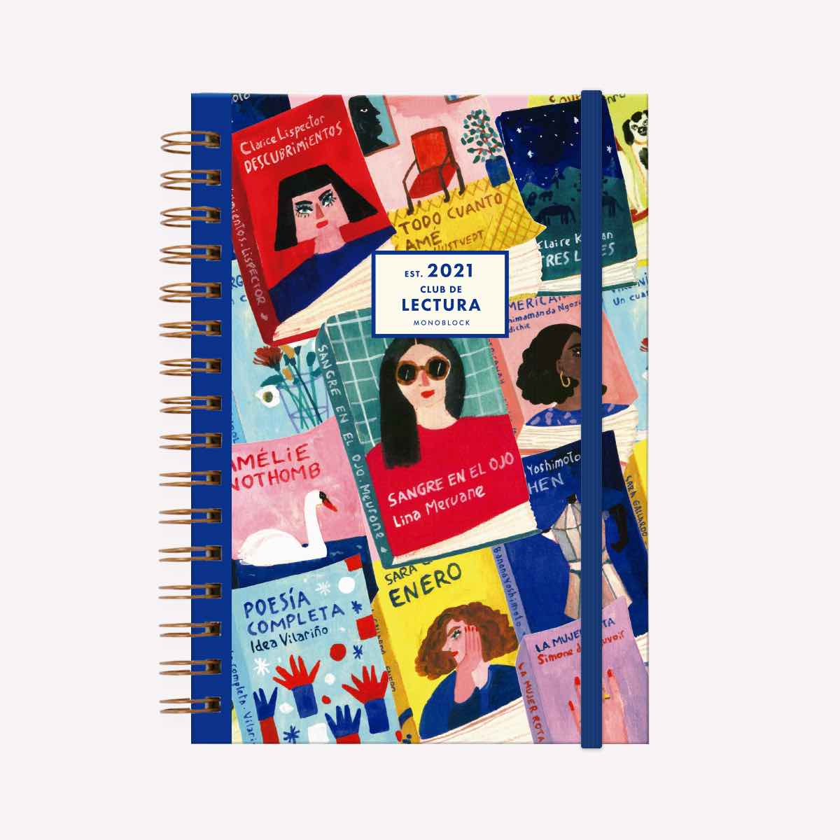 Book Club 2021 Planner
