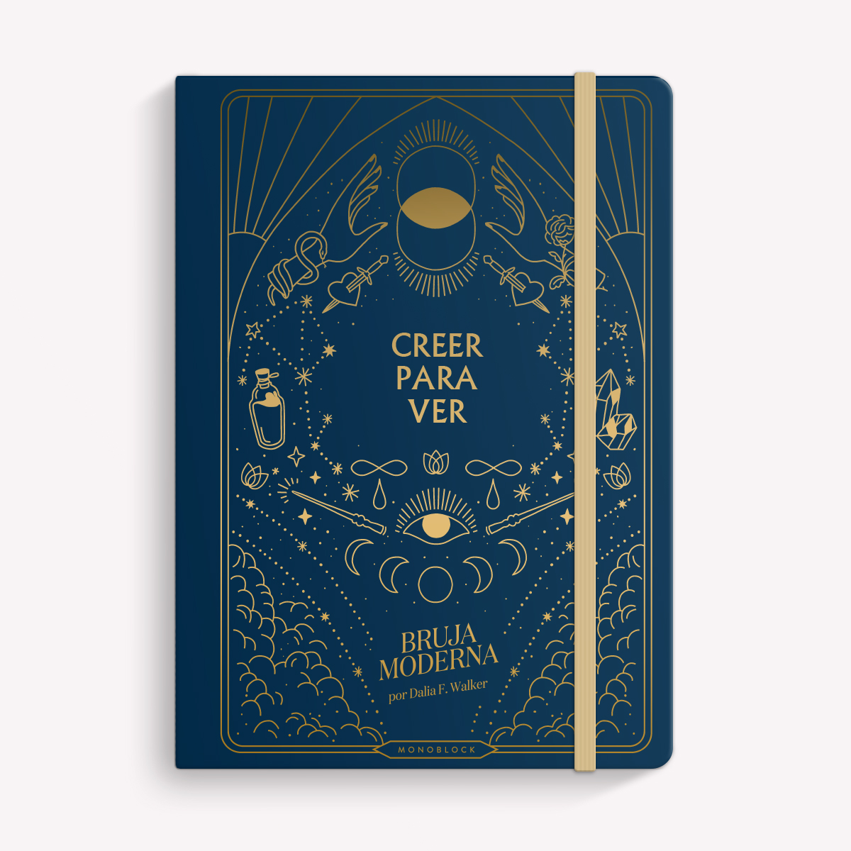 A5 Sewn Notebook: Creer Para Ver
